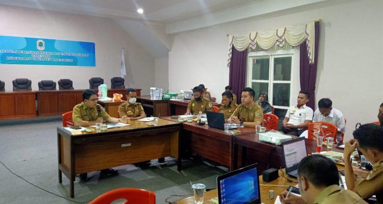 Dinas PU Bina Marga dan SDA Ekspose Kegiatan Tahun 2019 Yang Akan Di Audit Inspektorat Kabupaten