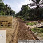 Penyedia Jasa Ruas Jalan Bongkong – Nanga Dangkan Kerjakan LPS