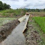Pengawasan Lapangan Paket Pekerjaan Rehabilitasi jaringan Irigasi D.I. Landau Kumpang